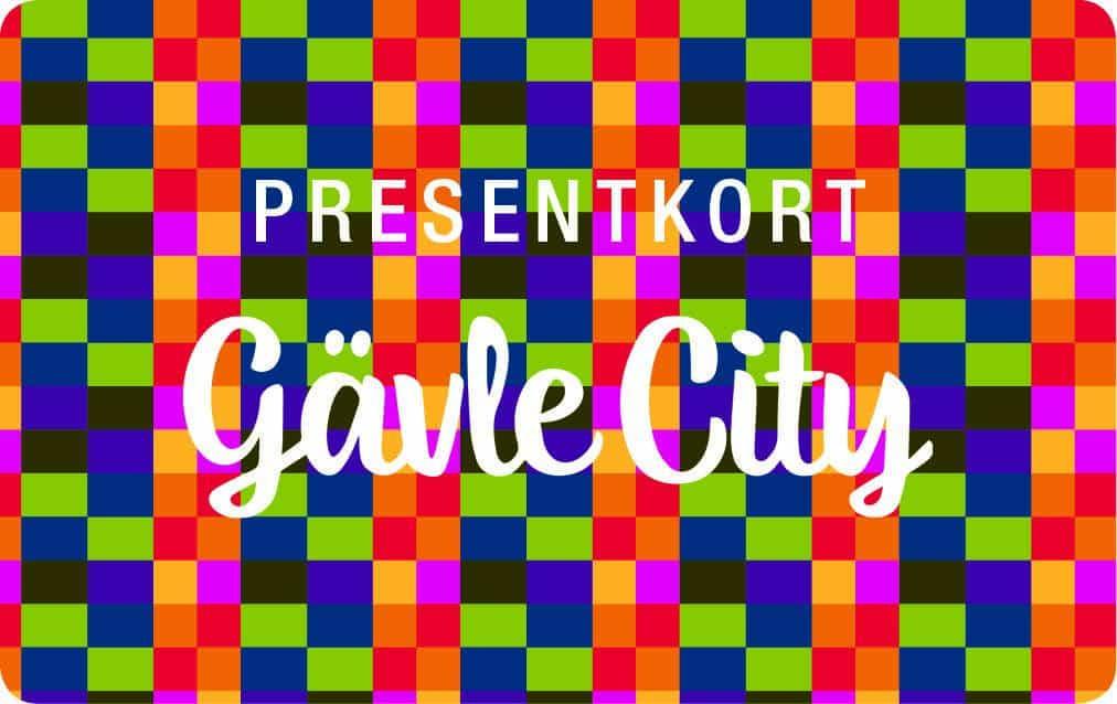 Presentkort, Gävle City, Gäller i 120 butiker i Gävle
