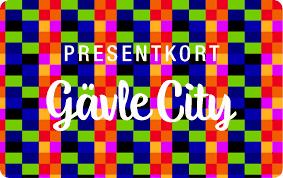 Presentkort, Gävle City, Gäller i 120 butiker i Gävle,